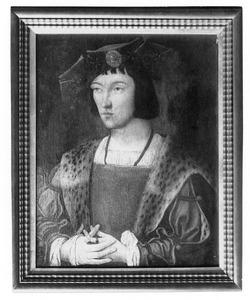 Portret van een man (mogelijk Karel VIII)