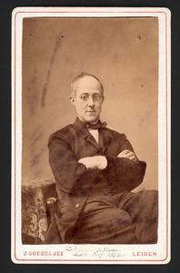 Portret van David Bierens de Haan (1822-1895)