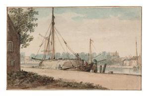 De Kolk te Delft gezien vanaf de Hooikade
