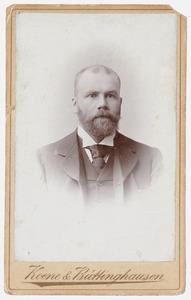 Portret van Jacob Adriaan van Kretschmar (1857-1931)