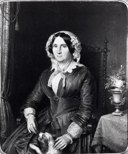 Portret van Cornelia van Hemert tot Dingshof ( -1884)