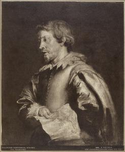 Portret van de landschapsschilder Lucas van Uden
