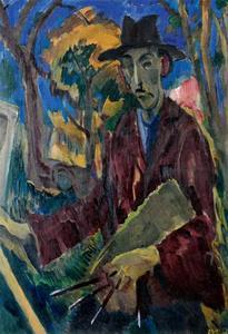 Portret van Jannes de Vries (1901-1986)