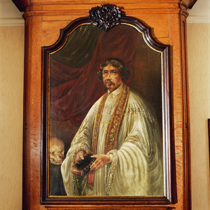 Portret van pastoor Gilkens