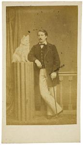 Portret van Donat Théodore Albéric van den Bogaerde van Terbrugge (1829-1895)