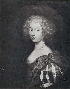 Portret van Else Skeel (ca. 1665-1682)
