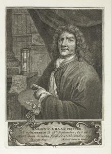 Portret van de schilder Barent Graat (1628-1709) (pl. VI)