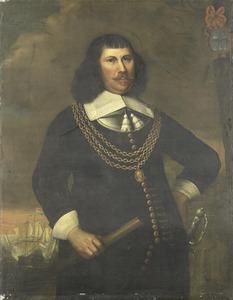 Portret van Pieter Florisz. (1605-1658)