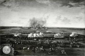 Het beleg van de stad Geldern door Friedrich I van Pruisen, 1703