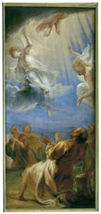 Het Snijderstriptiek: De hemelvaart van Christus
