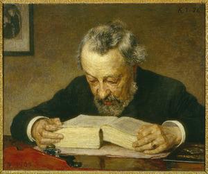 Portret van Johan Hendrik Caspar Kern (1833-1917)