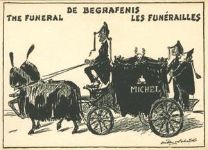 Michel: de begrafenis  the funeral  les funérailles