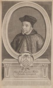Portret van Laurentius Metzius (1520-1580)