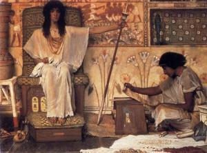 Joseph, opzichter van de farao graanschuren