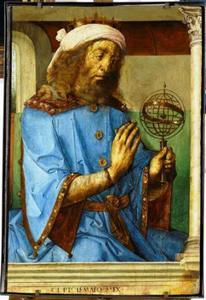 Ptolemaeus (2de eeuw voor Chr.) uit de serie 'Beroemde Mannen'