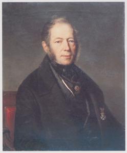 Portret van Gerrit van Leeuwen (1795-1872)