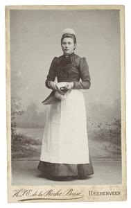 Portret van Tjette Waterlander (1881-)