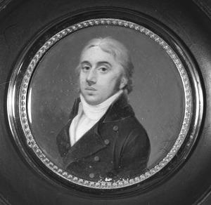 Portret van Abraham Willem van der Staal (1772-1821)