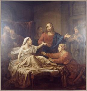 Opwekking van Jaïrus' dochter (Matth. 9:20-22)
