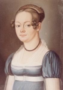 Portret van Jkvr. Anna Habina Alberda van Menkema (1797-1856)
