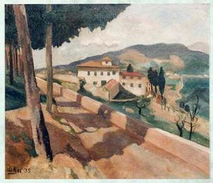 Landschap in Italië