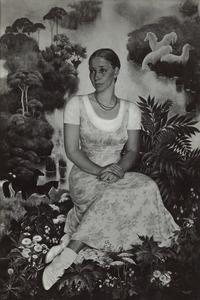 Portret van Antonie Martina Adolphine Grolle (1909- )