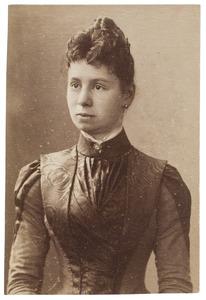 Portret van Wilhelmina van Oordt (1859-1905)