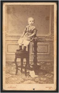 Portret van Hendrik de Booij (1867-1964)