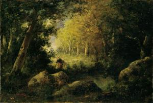 Herfst in het bos van Fontainebleau
