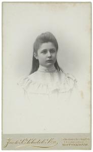 Portret van Catharine Albertine Havelaar (1887-1973)