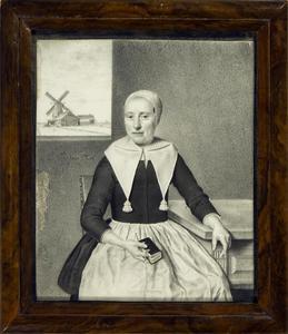 Portret van Trijntje Gerrits Stock (1649-1709)