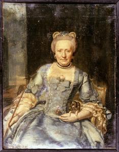 Portret van Ernestine Lucretia van Reede (1717-1794)