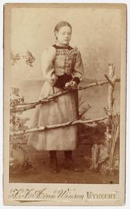 Portret van Maria Rebecca Huber (1880- )