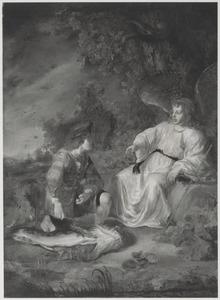 Tobias verwijdert op aanwijzingen van de engel de gal aan de vis (Tobit 4-6)