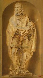 Standbeeld van keizer Ferdinand II