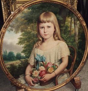 Portret van Helene Maris