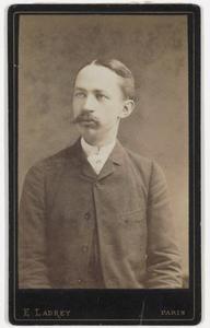 Portret van Andries Bonger (1861-1936)