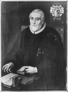 Portret van Andries Pietersz van Souwen (1549/1550-1625)