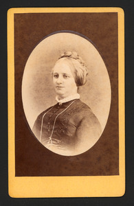 Portret van Elizabeth van Hall (1828-1879)
