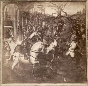 De strijd van de H. Hendrik II tegen de ongelovigen