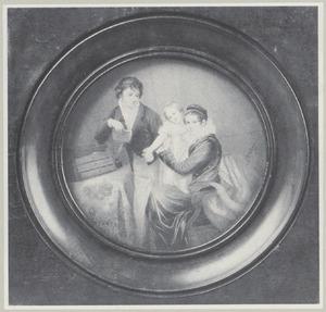 Portret van het gezin van August Donat de Hemptinne (1783-....)