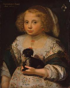 Portret van Anna Constantia de Beijwegh