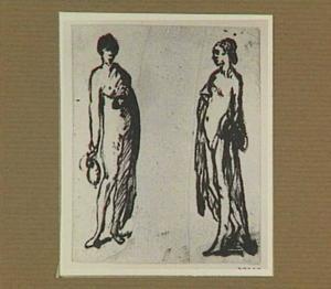 Twee vrouwenfiguren