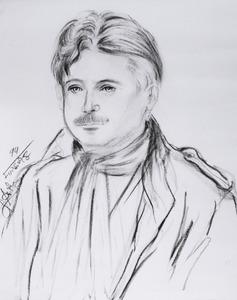 Portret van Otto Schutte (1938- )