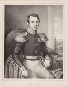 Portret van prins Willem III van Oranje- Nassau (1817-1890)
