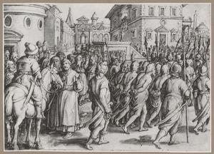 Apollonius van Tyana voorspelt de vrijlating van een ter dood veroordeelde man in Alexandrië