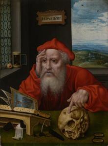 Heilige Hieronymus in zijn studeervertrek