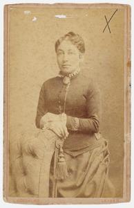 Portret van Christine Louise Philippine Serrurier (1841- )