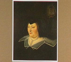 Portret van Jeanne Colbert, echtgenote van Nicolas Le Camus