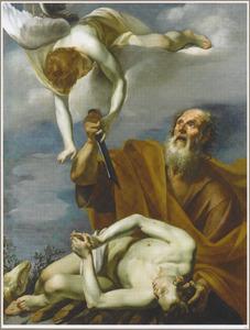 Het offer van Isaak  (Genesis 22:10-12)